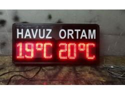 40x75 CM LED DİJİTAL HAVUZ ORTAM PANOSU