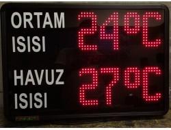 45x65 CM LED HAVUZ SICAKLIK PANOSU