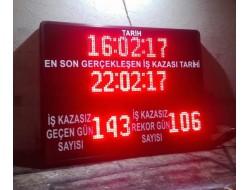 100x120 CM İŞ GÜVENLİK KAZA BİLGİ PANOSU