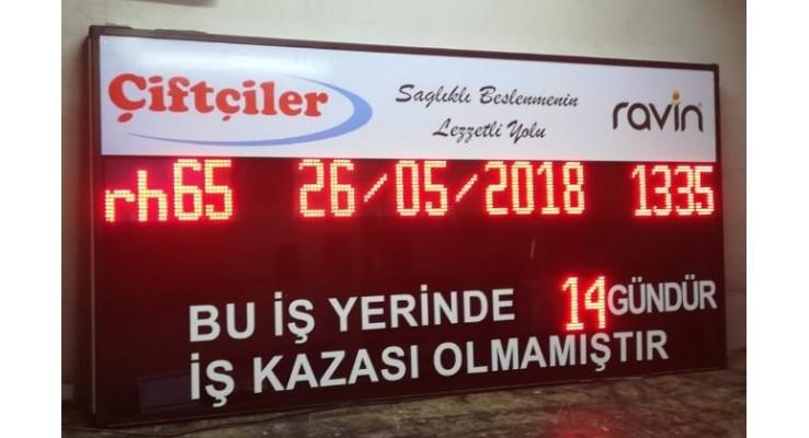 100x200 CM KAZASIZ İŞ GÜNÜ PANOSU