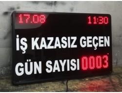 60x100 CM LED KAZASIZ İŞ GÜNÜ PANOSU