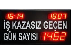 60x110 CM LED İS GUVENLİK BİLGİ PANOSU