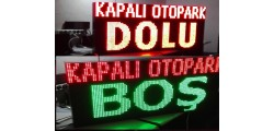 Led Otopark Panoları