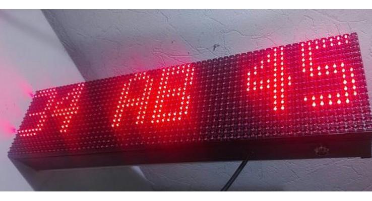 16x64 LED PLAKA OKUMA EKRANI