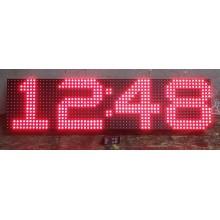 16x64 CM LED SAAT RF UZAKTAN KUMANDALI