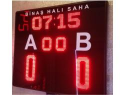 100x100 CM FUTBOL HALI SAHA SKORBORD