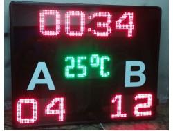 80x100 CM LED DERECELİ FUTBOL HALI SAHA SKORBORD