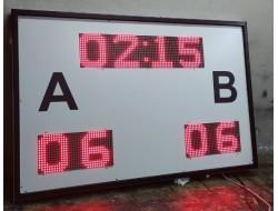 80x120 CM FUTBOL HALI SAHA SKORBORD PANOSU